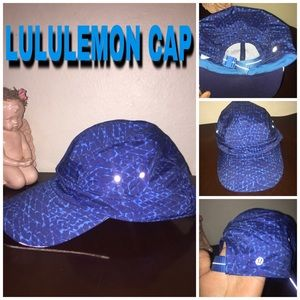 blue LULULEMON CAP(adjustable)
